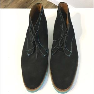 J D Fisk Suede Leather Chukka Style Boot SZ 11
